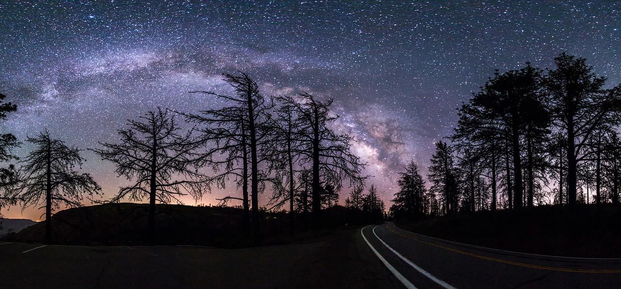 Milky Highway panorama