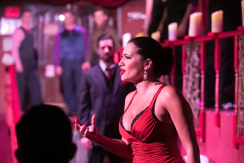 "San Diego Opera presents Ástor Piazzolla's ""tango opera"" MARIA DE BUENOS AIRES in January, 2018, as part of the Shiley Detour Series. Photo by Jeff Roffman for The Atlanta Opera."