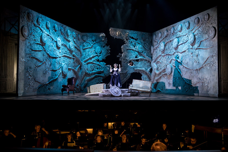 San Diego Opera presents Mozart's comic opera, THE MARRIAGE OF FIGARO, October 20, 23, 26, and 28m,  2018. Part of the Main Stage Series. Photo by Dan Norman, Minnesota Opera.