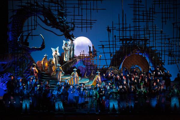 San Diego Opera TURANDOT Production Photos