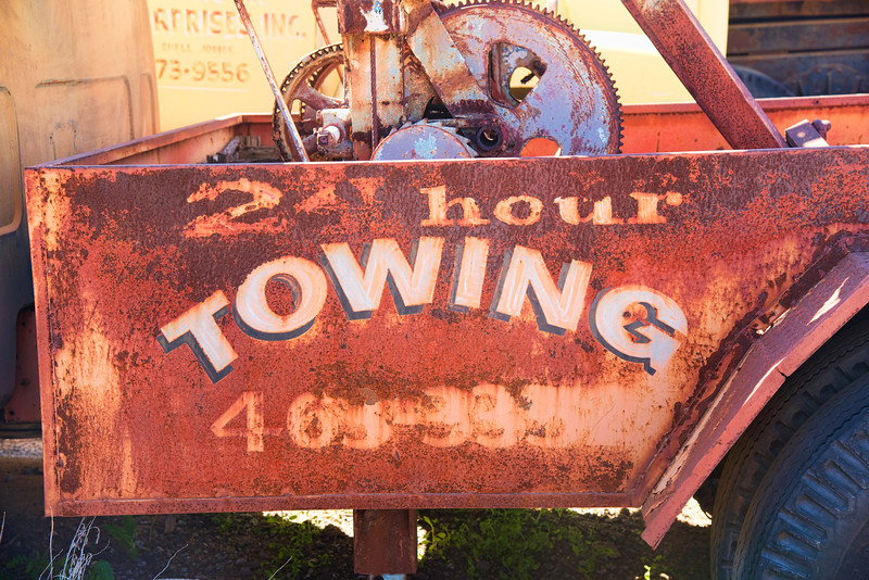24 - hour towing