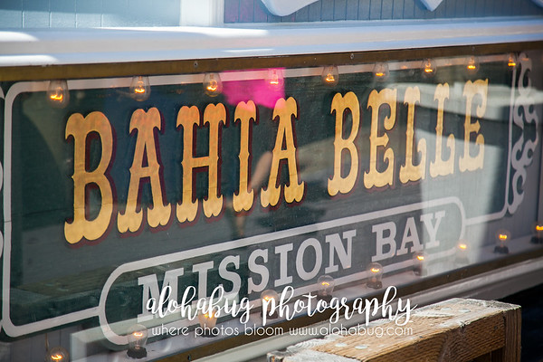 The lovely Bahia Belle Boat Cruise for Wedding Reception.  It was too much fun.