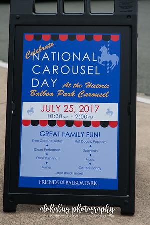 National Carousel Day at Balboa Park by AlohaBug Photography