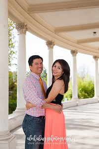 Alvy + Guillermo, Balboa Park Engagement Photographer, Rizza CW