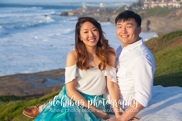 Cuvier Park Wedding Bowl Engagement Photos by AlohaBug Photography
