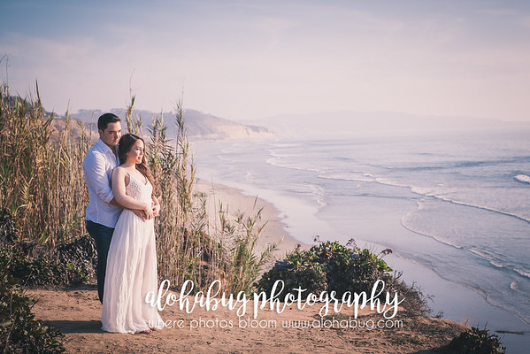 Torrey Pines State Beach Park Engagement Photographer & Del Mar Beach Engagement  Photographer