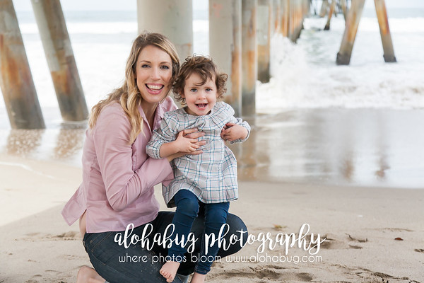 Family Photos at Venice Beach by AlohaBug Photography