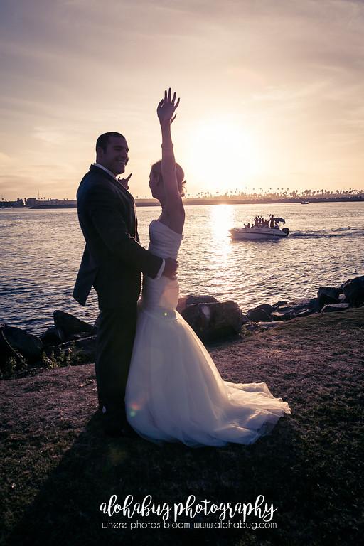 Carolyn + Derek | Hyatt Regency Wedding Photographer, AlohaBug Photography