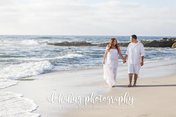 Rosealba + Abelino // La Jolla Beach Maternity Photographer, AlohaBug Photographer
