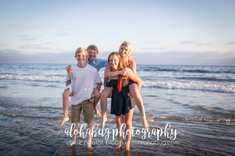 Coronado Beach Family Photos by AlohaBug Photography
