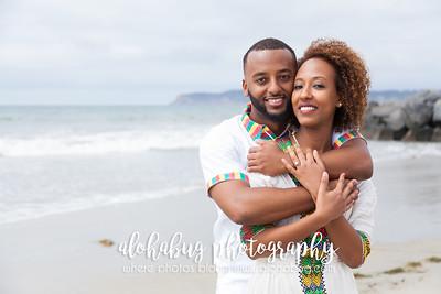 Engagement Photos at Hotel Del Coronado by AlohaBug Photography