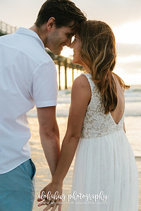 Engagement Photos at Scripps Pier - La Jolla, CA by AlohaBug Photography