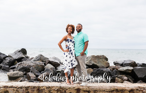Engagement Photos at Hotel Del Coronado by AlohaBug Photography