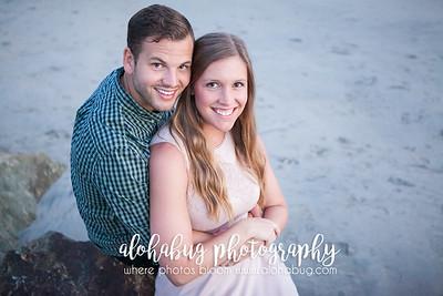Melanie + Andrew's Engagement Photos at Hotel Del Coronado Beach by AlohaBug Photography