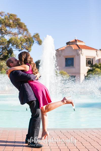 Erika + Jared | Balboa Park Engagement Photographer, AlohaBug Photography