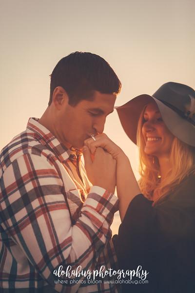 Tyler + Britta | Coronado Beach Engagement Photographer, AlohaBug Photography