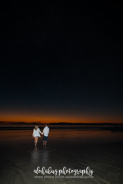 Tonya + Zach | Coronado Beach Engagement Photographer, AlohaBug Photography