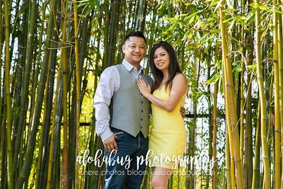 Japanese Friendship Garden Engagement Photos by AlohaBug Photography