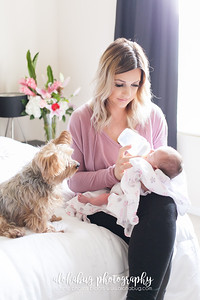 Lifestyle - Newborn Photos by AlohaBug Photography