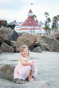 Family Photos at Coronado Beach by AlohaBug Photography