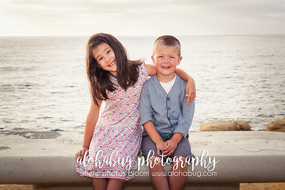 JJ + Family, Sunset Cliffs Photographer