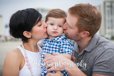 Parisa & Family, Coronado Beach Family Photos by AlohaBug Photography