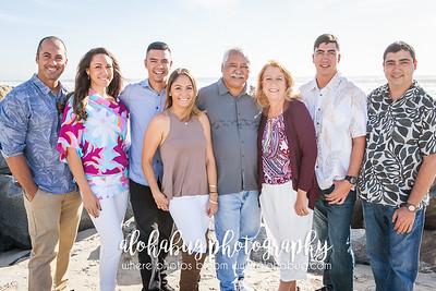 Kahea & Family at Coronado Beach 2015