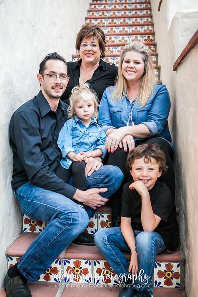 Kelly & Family - Holiday Photos 2015