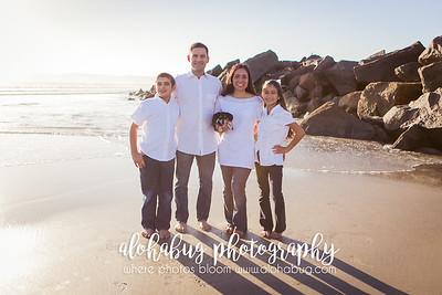 Adriana's Family Photos at Coronado Beach by AlohaBug Photography