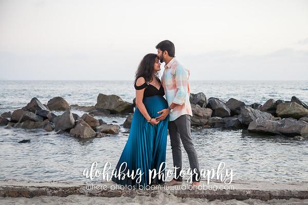 Maternity Photos at Coronado Beach by AlohaBug Photography