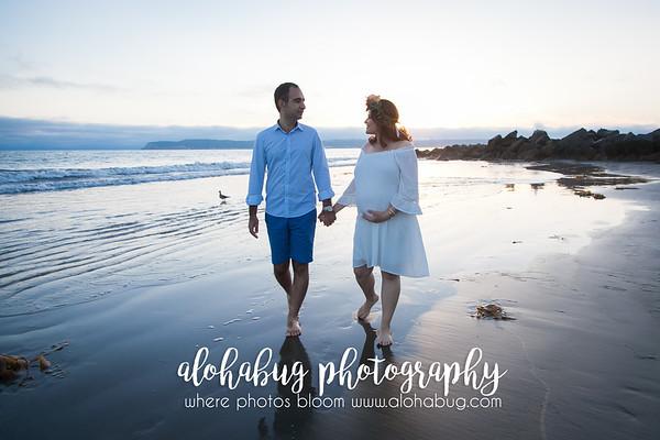 Maternity Photos at Hotel Del Coronado by AlohaBug Photography