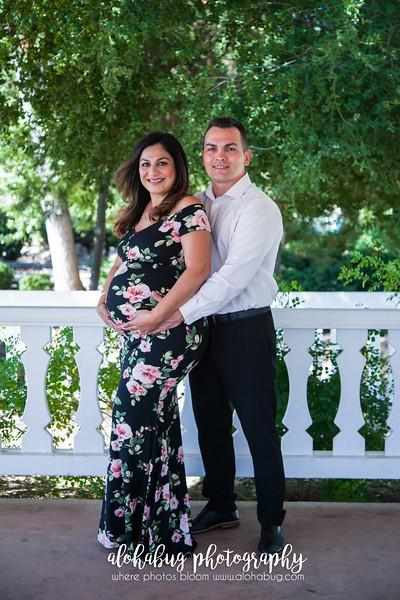 Maternity Photos at Old Poway Park by AlohaBug Photography
