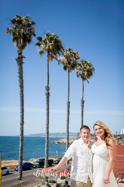 Chelsea + Brandon | Sunset Cliffs Wedding Photographer, AlohaBug Photography