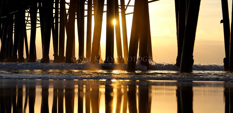 Reflecting - Oceanside Pier