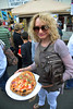 Lady with Pizza in Hand, Sicilian Festival 2011