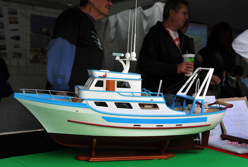 Sicilian Fishing Boat Model, 2011