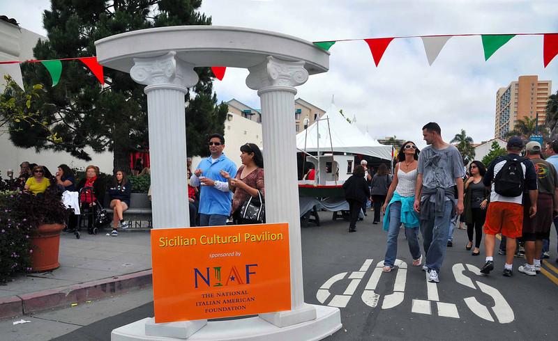NIAF Signage