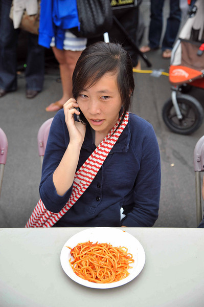 Pasta and Cell Phone, Sicilian Festival 2011