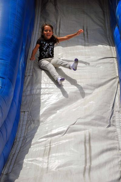 Girl on Slide, Sicilian Festival 2011