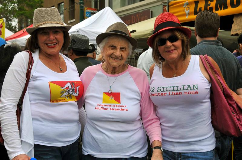 Sicilian Grandma Sicilian Festival 2011