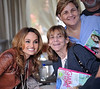 Giada Posing with Fans at Sicilian Festival 2011