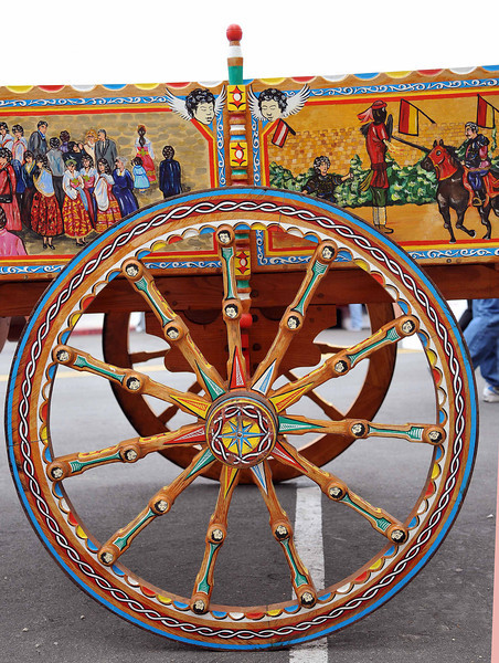 Sicilian Carretta Wheel