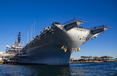 Midway aircraft carrier - now a museum