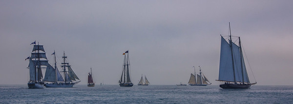 Tall Ships Parade - Aug 31, 2017