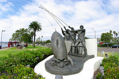 The Tuna Fishermen's Memorial, on Shelter Island.