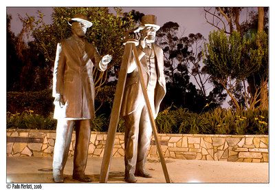 Pioneers, looking at Balboa Park