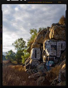 Grafitty on the Rocks