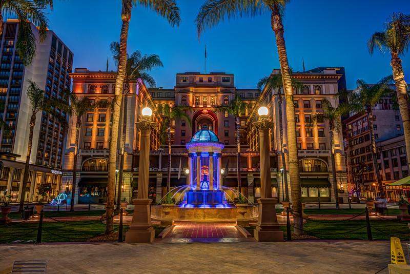 US Grant Hotel (Photomatix HDR)