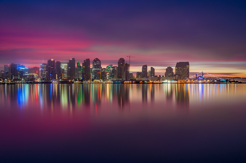 LE of San Diego Skyline