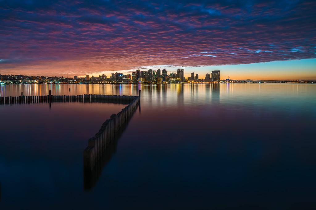 Blue Hour Epic Sunrise